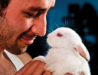 hot_guys_baby_animals_bunny