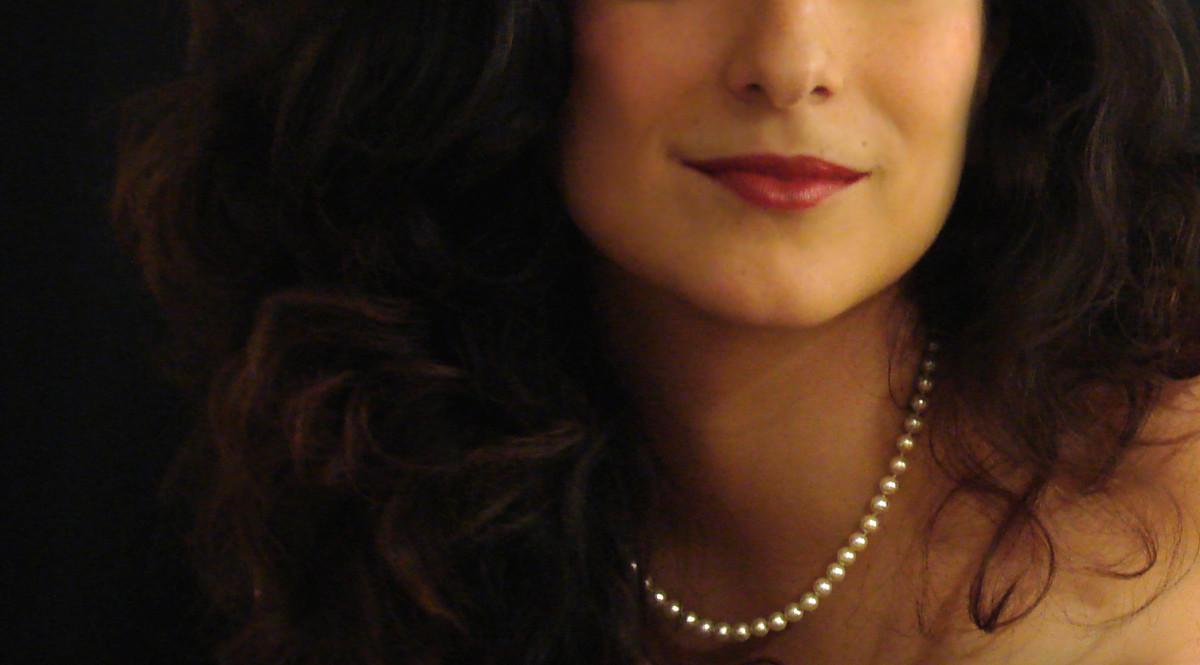 Cum pearl necklace porn